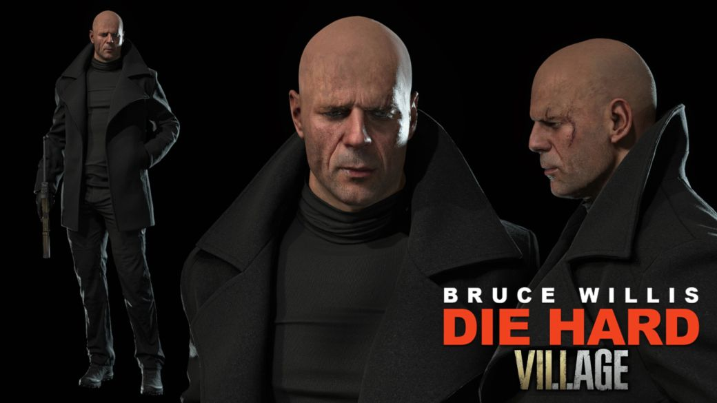 John MacClane (Bruce Willis) sneaks into Resident Evil 8 Village thanks to a new mod