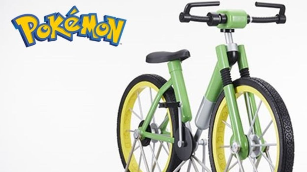 Pokémon Red and Blue: this is the bike of the game in real life;  The Pokémon Company raffles it