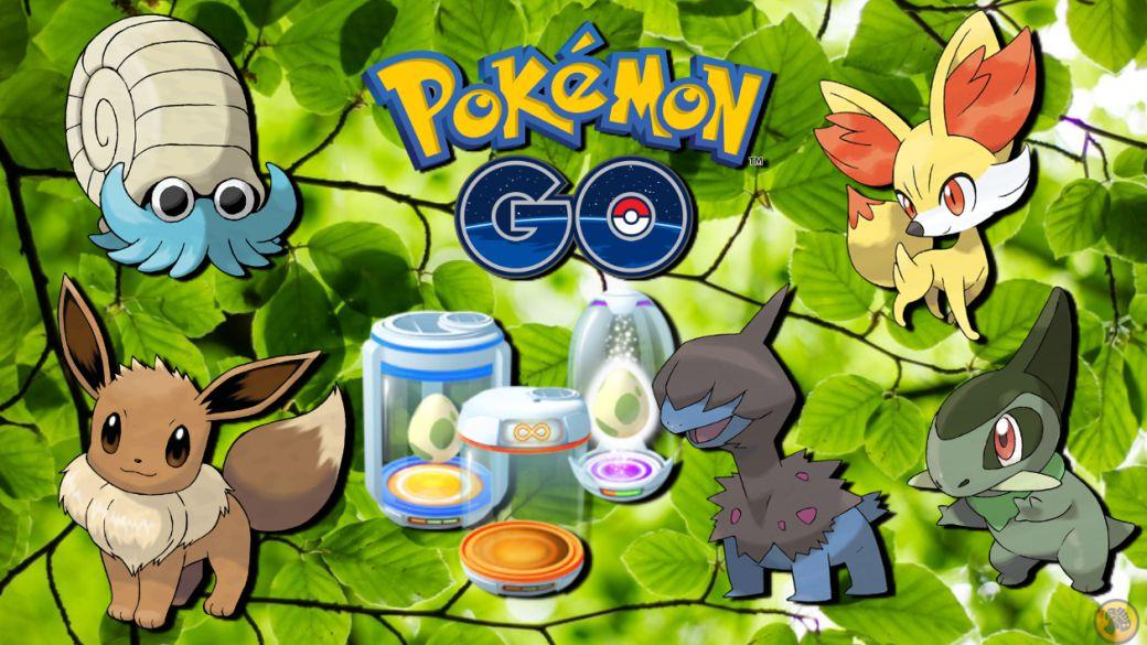 Pokémon GO: all Eggs of 2, 5, 7, 10 and 12 km (August 2021)