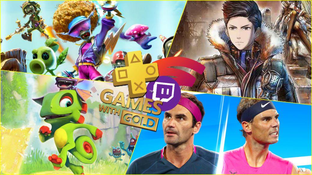 Juegos gratis de agosto en PS Plus, Xbox Gold, Prime Gaming y Stadia Pro