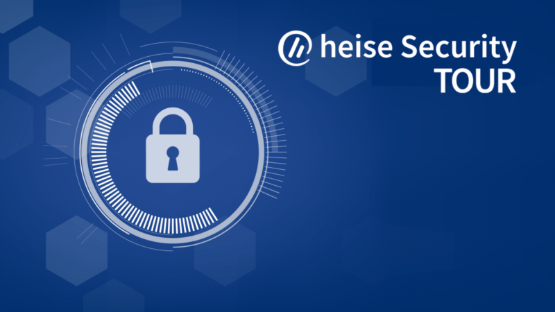 Early booking discount for the heise Security Tour only until Friday