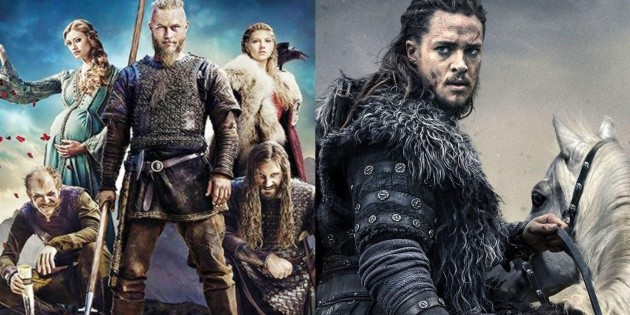 What do Vikings and The Last Kingdom have in common?