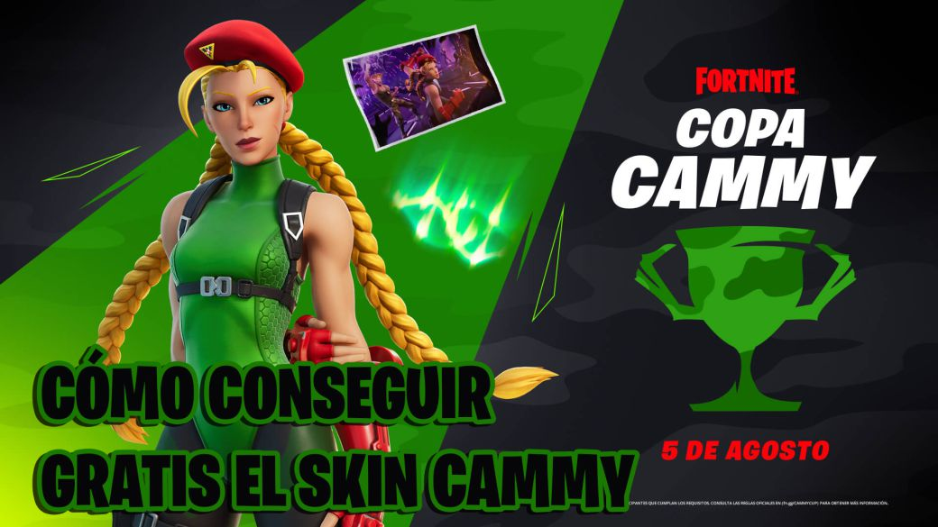 Skin Cammy in Fortnite;  how to get it for free in the Cammy Cup: time and how to participate