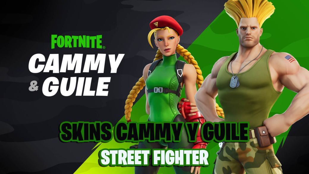 Fortnite: Street Fighter Cammy and Guile skins announced;  will arrive soon
