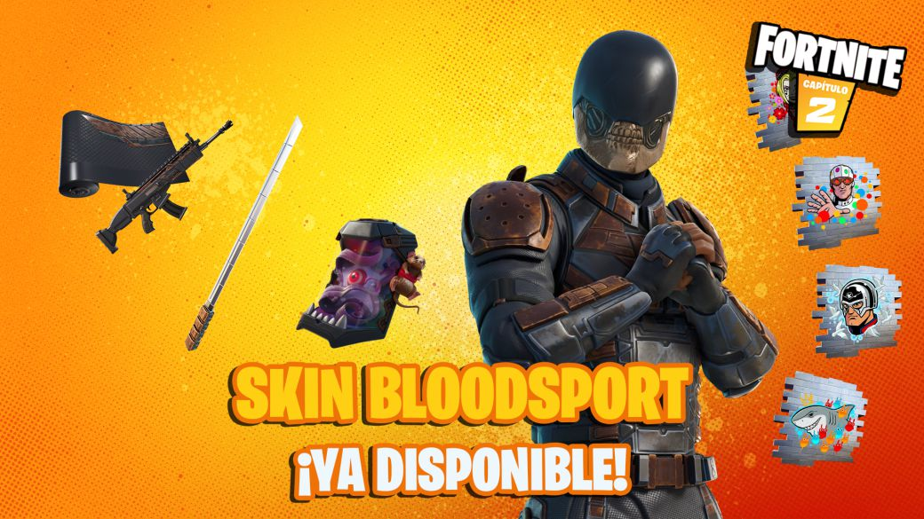 Fortnite: The Suicide Squad BloodSport Skin Now Available;  price and contents
