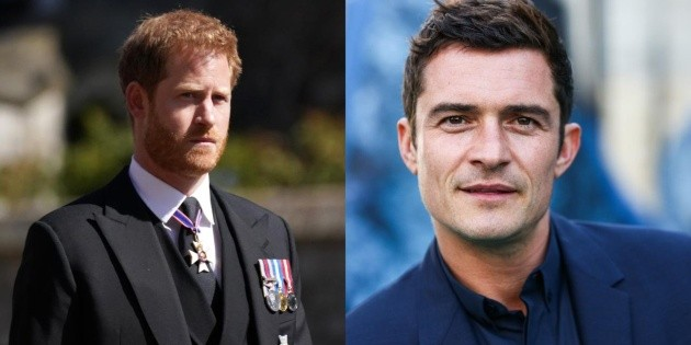 Orlando Bloom will be Prince Harry in a series that is not the Crown