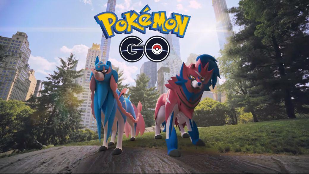 Pokémn GO: the Galar Pokémon arrive |  Official trailer