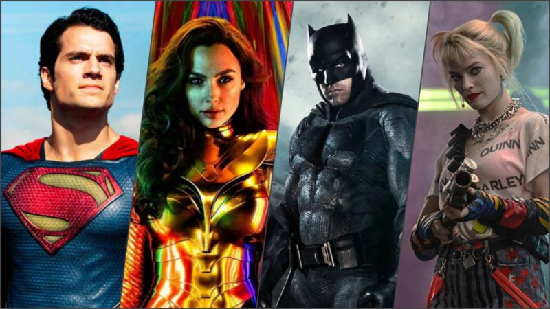 In what order to watch the movies of the DC Universe?
