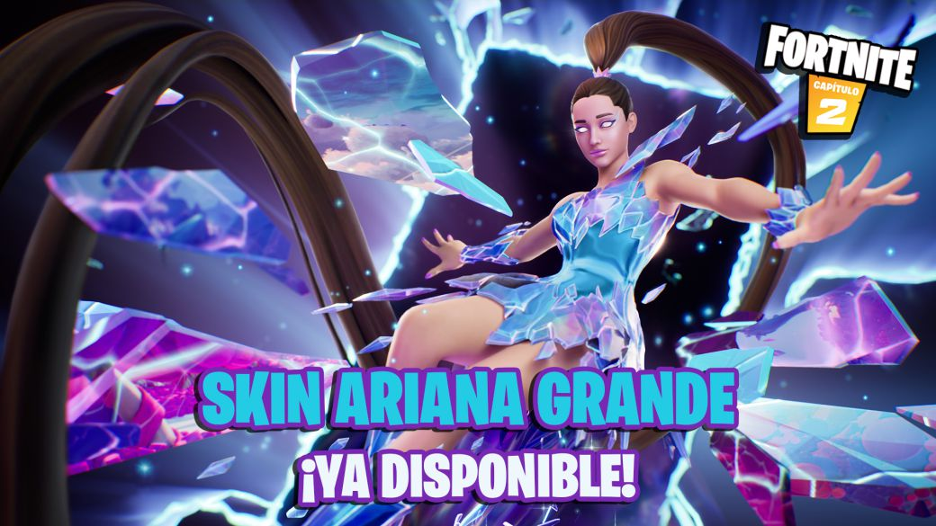 Fortnite: Ariana Grande skin now available;  price and contents