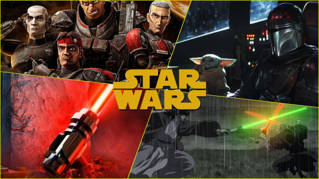 Upcoming Star Wars releases on Disney +: series, specials and shorts