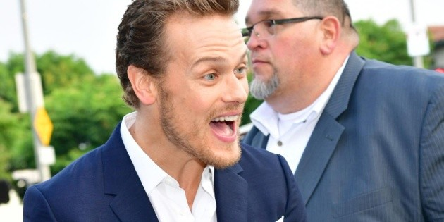 Sam Heughan triumphs on Netflix and it's not with Outlander