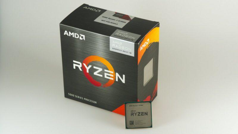 AMD Ryzen 5000G: Sales start for efficient combination processors