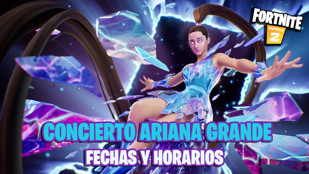 Ariana Grande Event in Fortnite: Rift Tour;  date, time and how to watch the concert online
