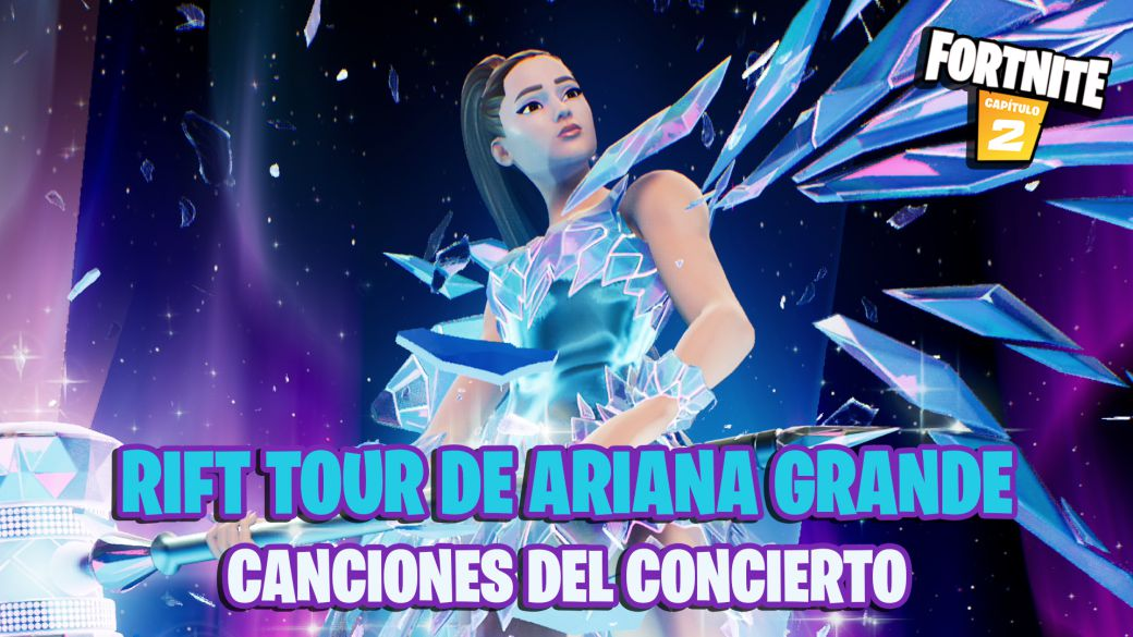 Fortnite: these are the songs that sounded at Ariana Grande's Rift Tour event