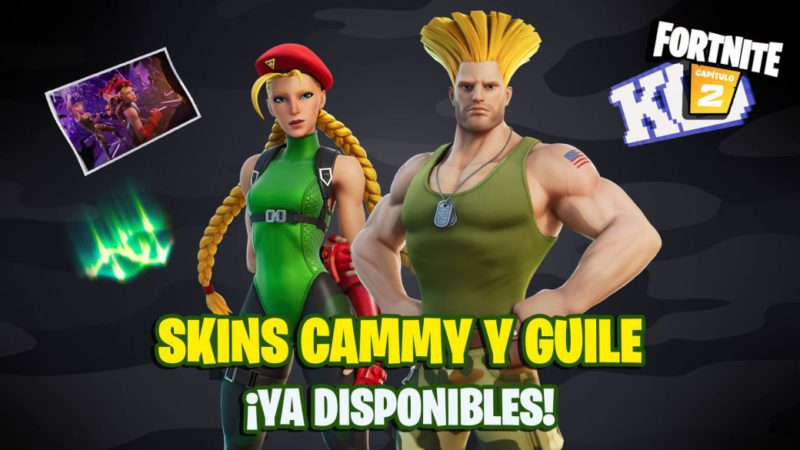 Fortnite: Street Fighter Cammy and Guile skins now available;  price and contents