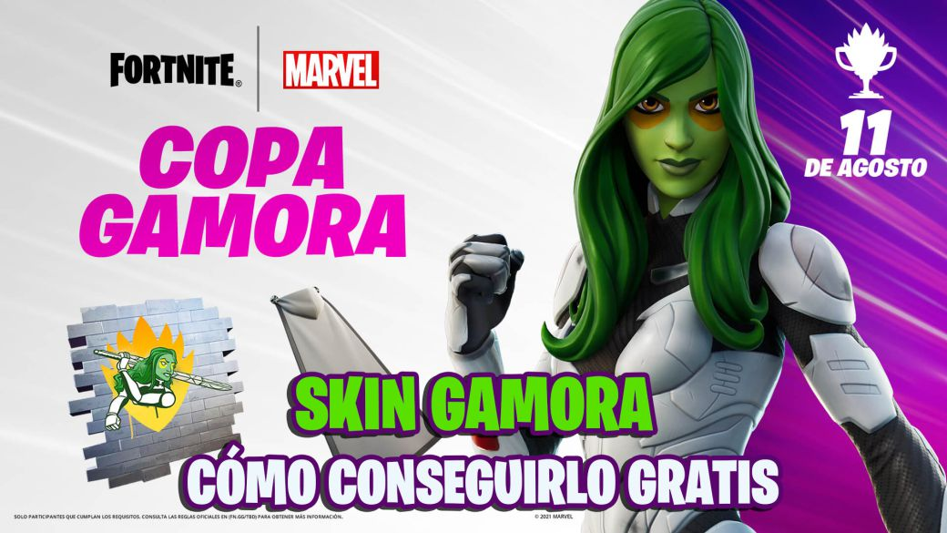 Skin Gamora in Fortnite;  how to get it for free in the Gamora Cup: time and how to participate