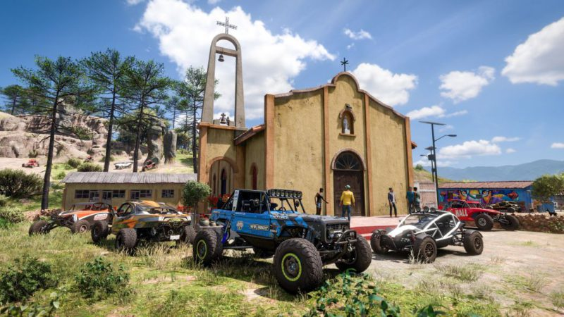 Forza Horizon 5 shows its map in full: this is the roads of Mexico