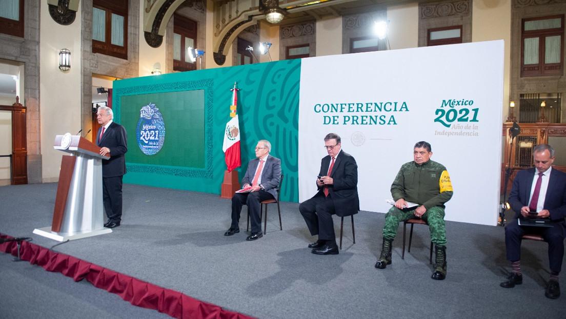 """México llama al G20 a """"no hacer geopolítica"""" con las vacunas"""