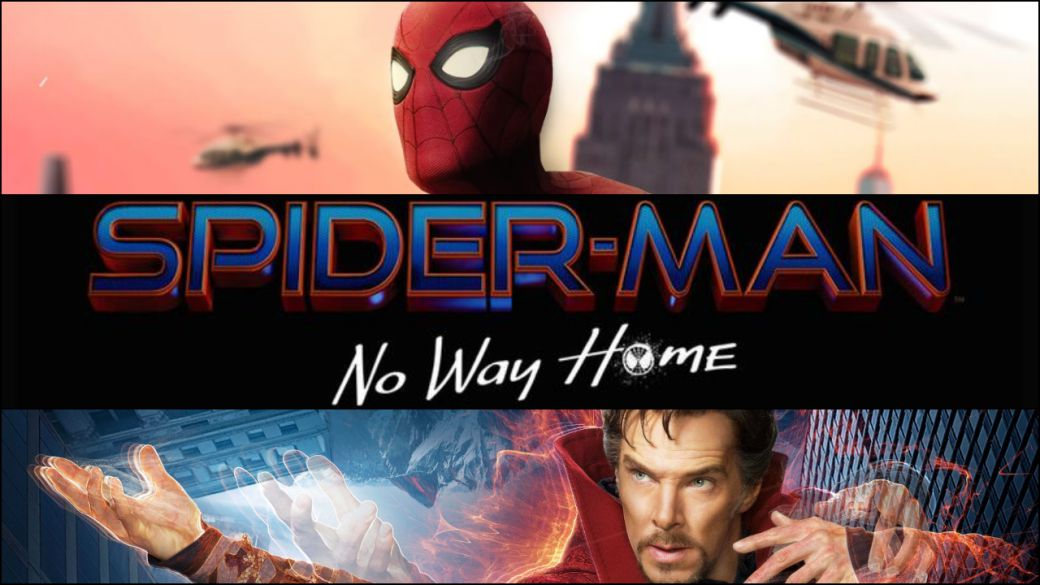 Spider-Man and Doctor Strange, together in new promo arts for No Way Home