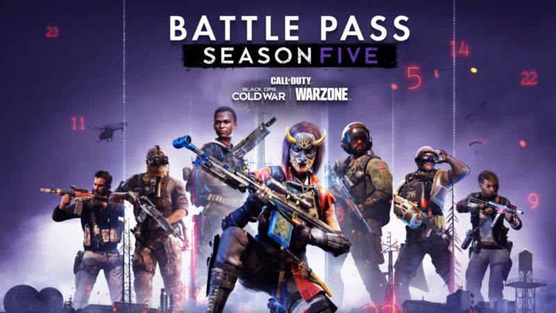 CoD Warzone: This is what the rewards of the Season 5 Battle Pass look like;  new trailer
