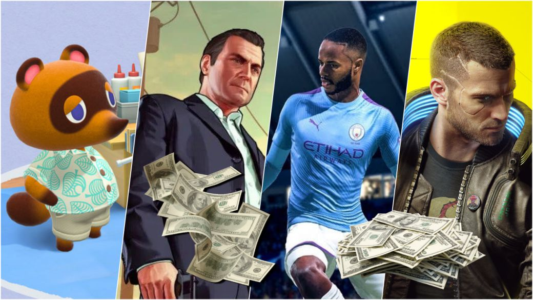 How much money do GTA 5, FIFA or Call of Duty generate per day?  They calculate it