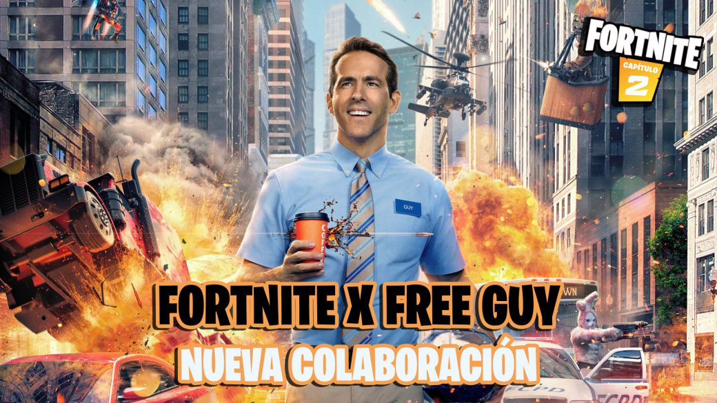 Fortnite: a collaboration with Free Guy leaked;  new challenges and free rewards