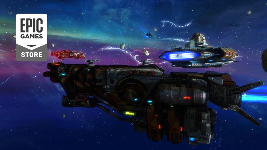 Rebel Galaxy, a new free game on the Epic Games Store;  how to download on pc