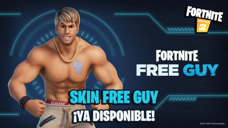 Fortnite: Free Guy's Uncle Skin (Ryan Reynolds) Now Available;  price and contents
