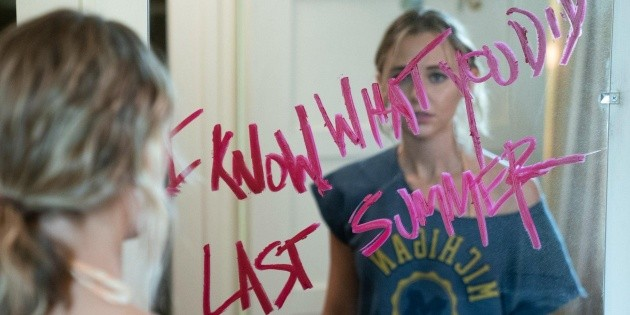 The first images of I know what they did last summer, the new thing from Amazon Prime Video