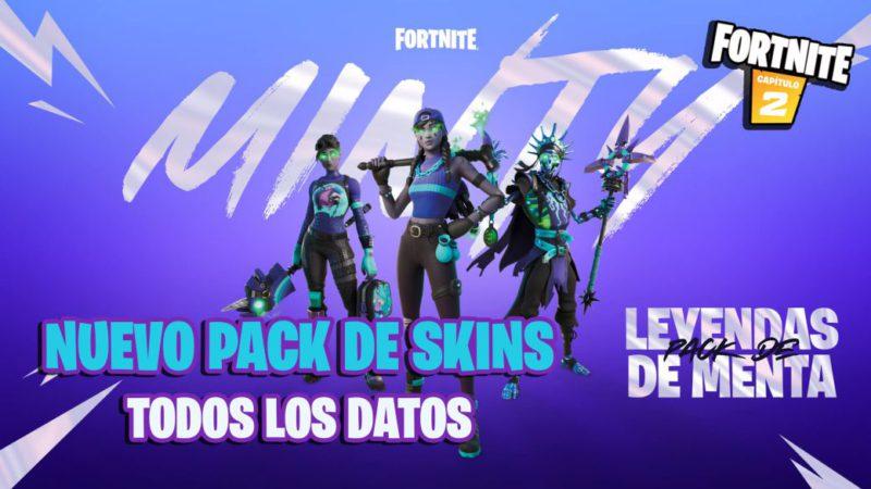 Fortnite: Legends of Mint Skin Pack Announced;  all data
