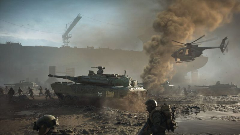 """Battlefield 2042: Technical Test on PS5 Canceled Due to a """"critical error"""""""