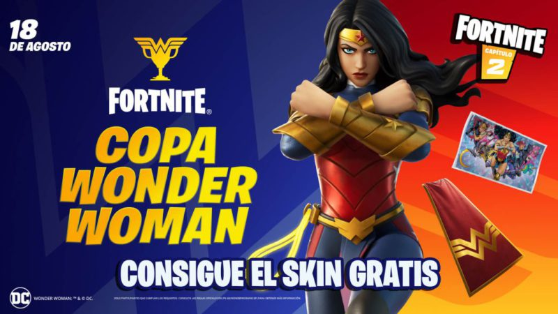 Skin Wonder Woman in Fortnite;  how to get it for free in the Wonder Woman Cup: time and how to participate
