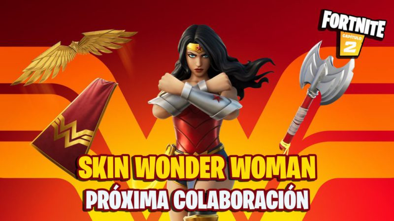 Skin Wonder Woman from DC Comics in Fortnite;  all we know