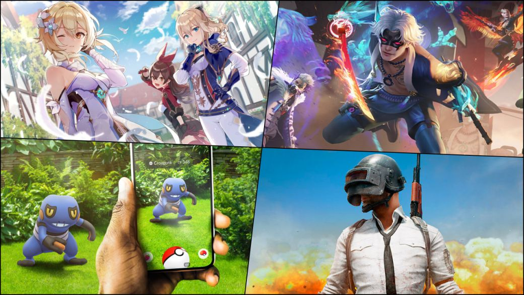 What are the most successful mobile games?  Genshin Impact, Pokémon GO ...