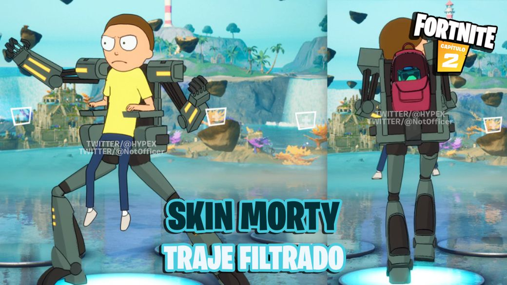 Fortnite: Rick and Morty's Morty skin leaks;  all we know