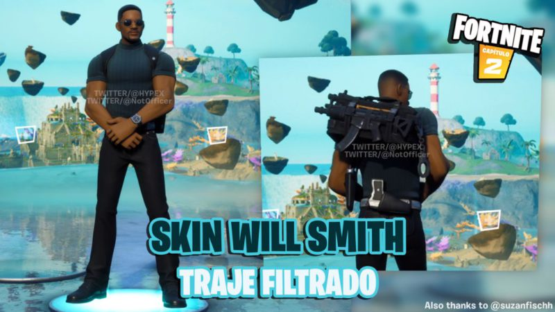 Fortnite: leaked a Will Smith skin;  all we know