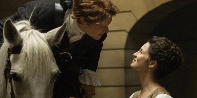 Outlander: Sam Heughan and Caitriona Balfe's controversial mistake in the series