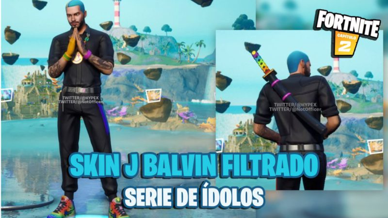 Fortnite: J Balvin will have a skin;  All the details