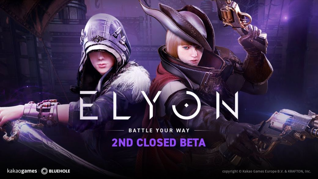 Participate in the Elyon beta with one of the 200 keys that we distribute;  All the details