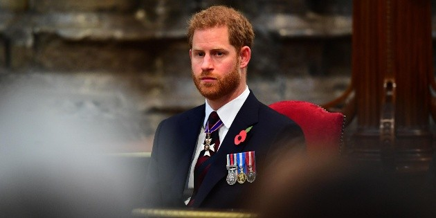Prince Harry got mad at a series and it's not The Crown