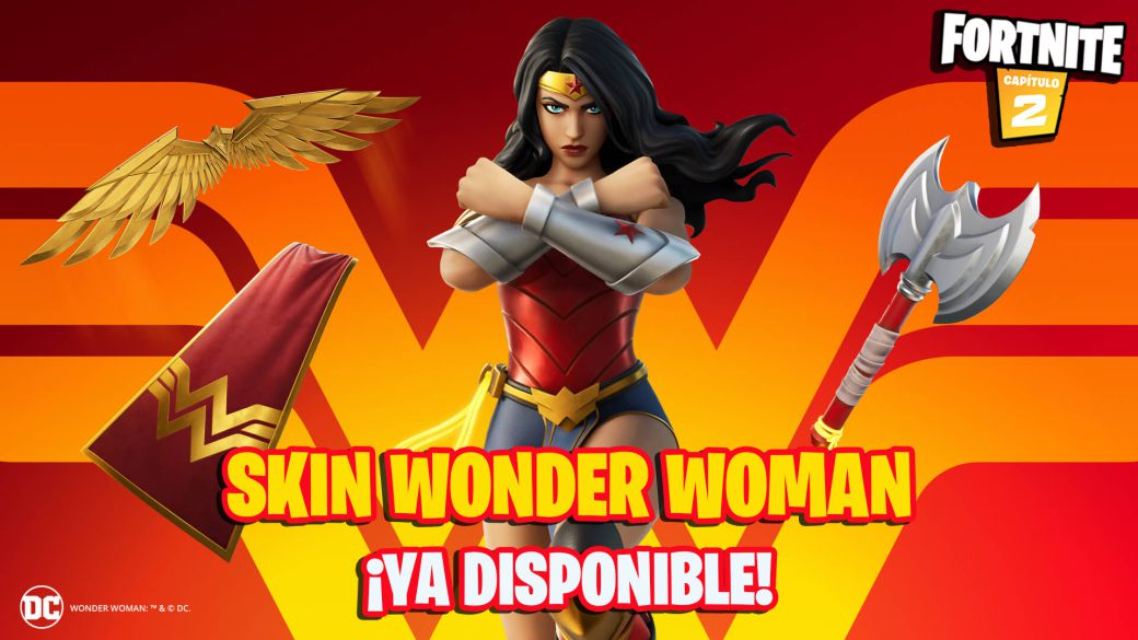 Fortnite: Wonder Woman skin now available;  price and contents