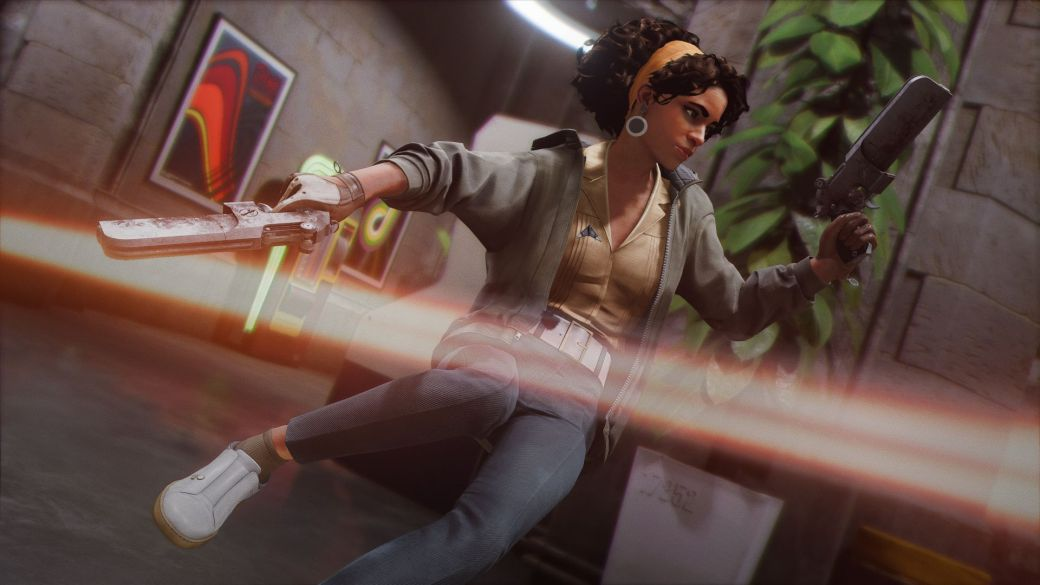 Deathloop shows the villain in a new gameplay trailer