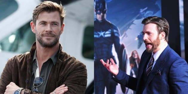 Chris Hemsworth ditched Chris Evans and has a new friend in Marvel