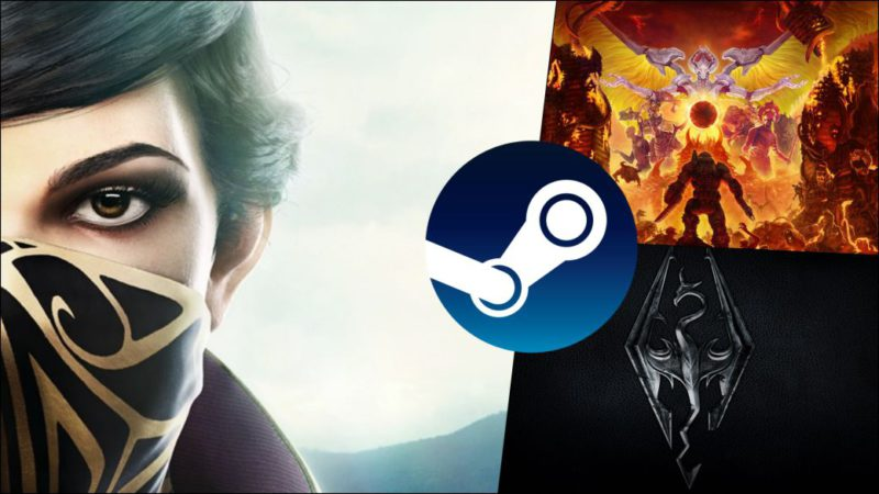 Steam Celebrates Quakecon 2021 With Deals On Games Like Skyrim, DOOM Eternal And More