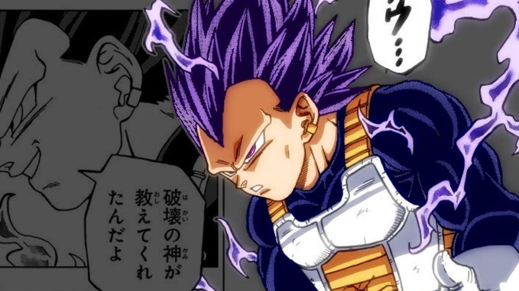 Vegeta's new transformation recovers his wildest side;  that's what it's called and it works