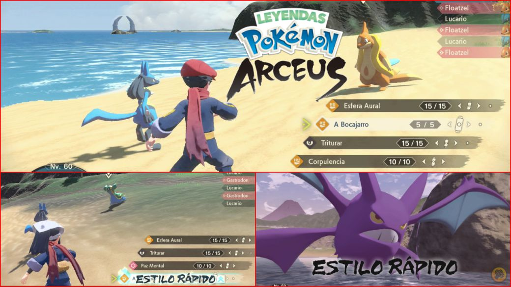 Pokémon Legends Arceus: Explained the Fast and Strong Style of the combat system