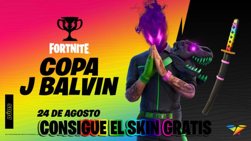 Skin J Balvin in Fortnite;  how to get it for free in the J Balvin Cup: date, time and how to participate