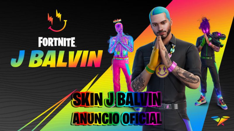 J Balvin in Fortnite: this is his skin and his dance;  dates and how to get it
