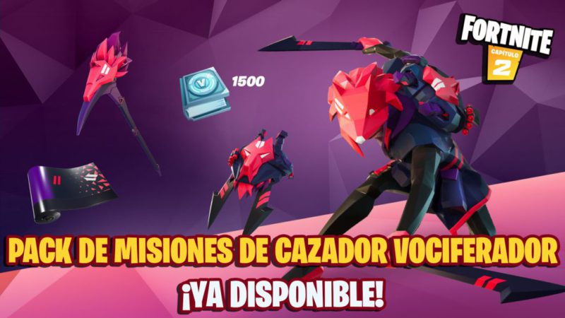 Fortnite: Howling Hunter Quest Pack Now Available;  price and contents
