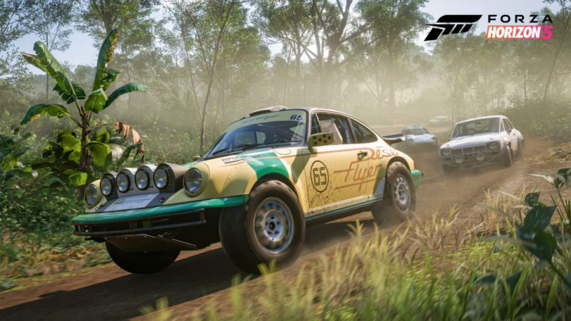 Forza Horizon 5 shows off its official art with a spectacular new gameplay trailer